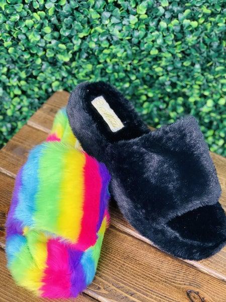 Cuddle Fluffy Slides