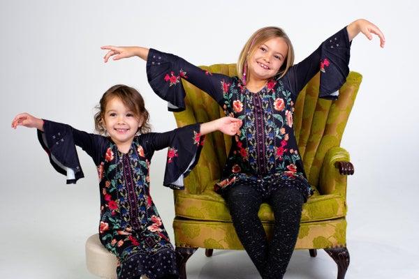 That 60s Vibe Kids Dress *Final Sale*