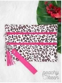 Snap Crackle Pink, Double Zipper Versi Bag