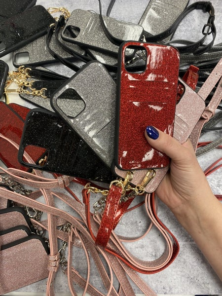 Bling Phone crossbody case