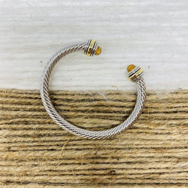 Tuscany Citrine Cable Bracelet