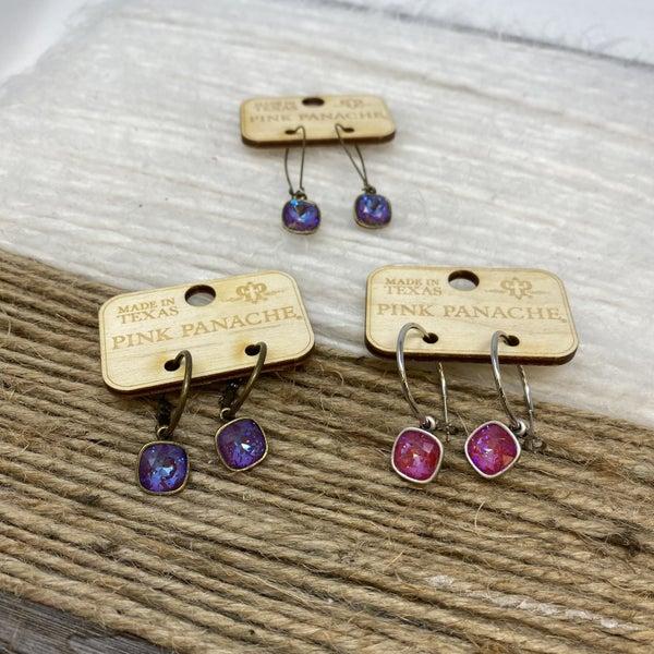 Starships Crystal Earrings