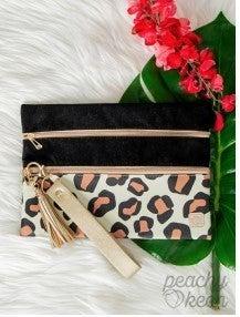 Felt Cute Double Zipper Versi Bag