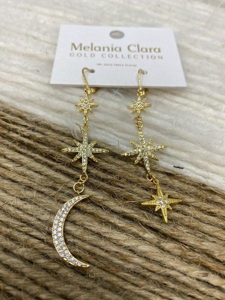 Melania Clara Night Sky Earrings