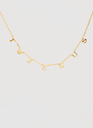 Inspirational Initial Necklaces