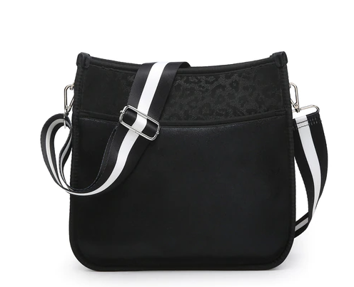Jolee Crossbody Bag With Guitar Strap By Jen & Co