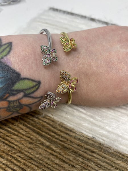 Fly Away with Me Cuff Bracelet