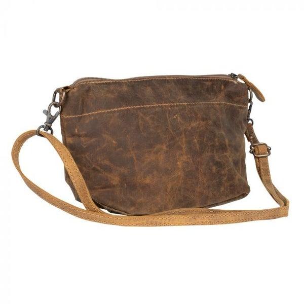 Hazel Explosion Leather Shoulder Bag
