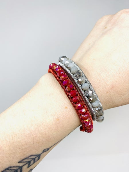 The Essential Stackable Beaded Bracelet