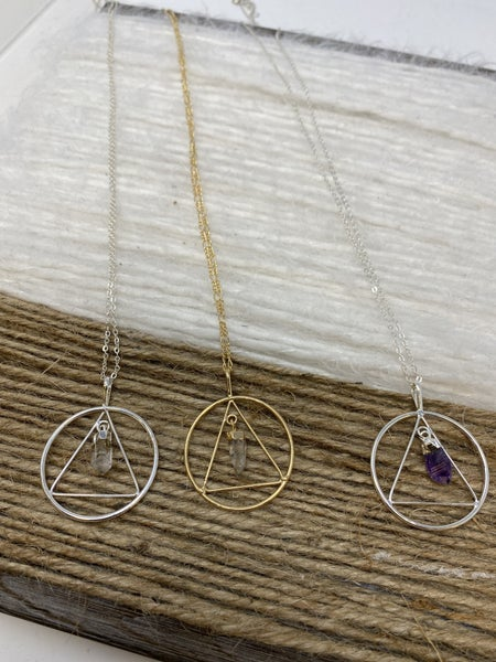 Crystal of Light Necklace