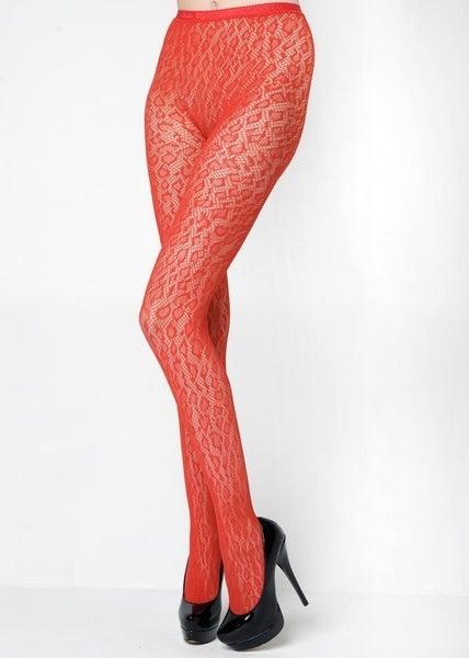 Leopard Speed Fishnet Pantyhose *Final Sale*