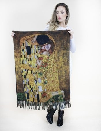 Taken With The Kiss Printed Scarf