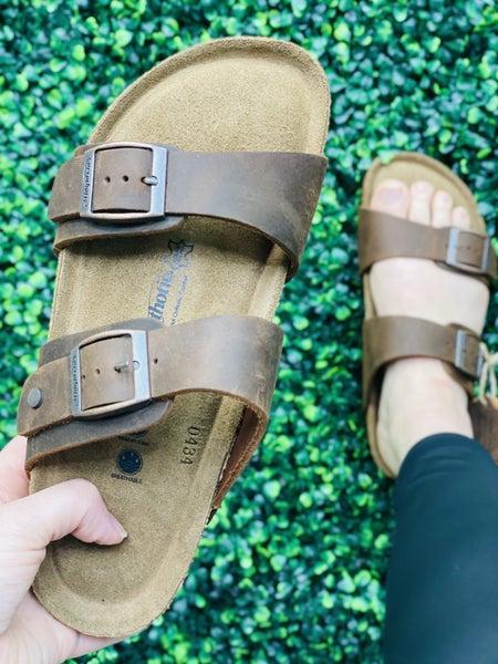 Vista Leather Open Toe Sandal
