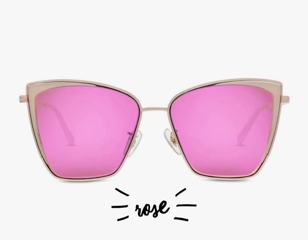 Diff Becky Cateye Sunglasses