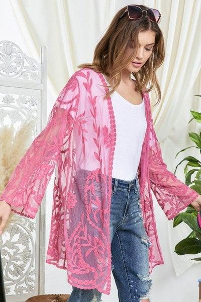 Sheer Beauty Kimono