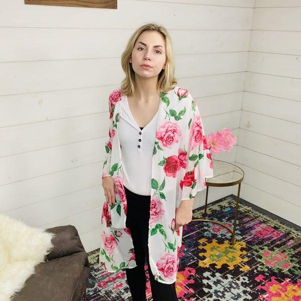 Floral Daze Cardigan