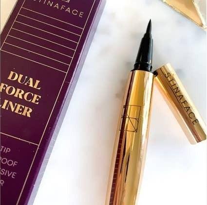 Dual Force Eyelash Adhesive Eyeliner