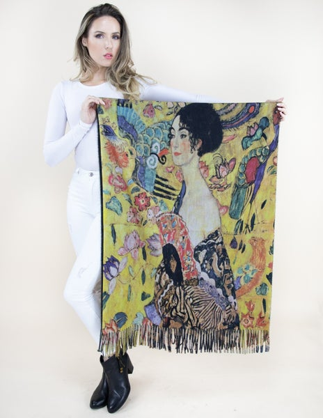Lady of the Land Printed Scarf