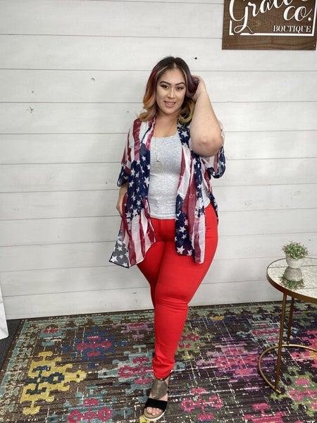Born In The USA Kimono