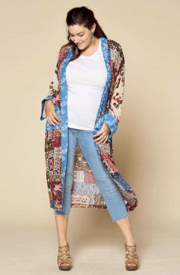 Oddi Heart Set On You Kimono - PREORDER