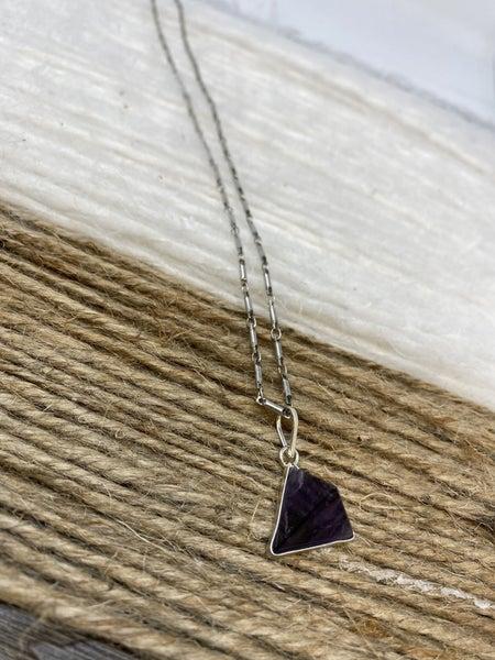 Infinity Stone Necklace