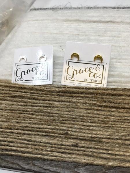 Moonwalk Earrings
