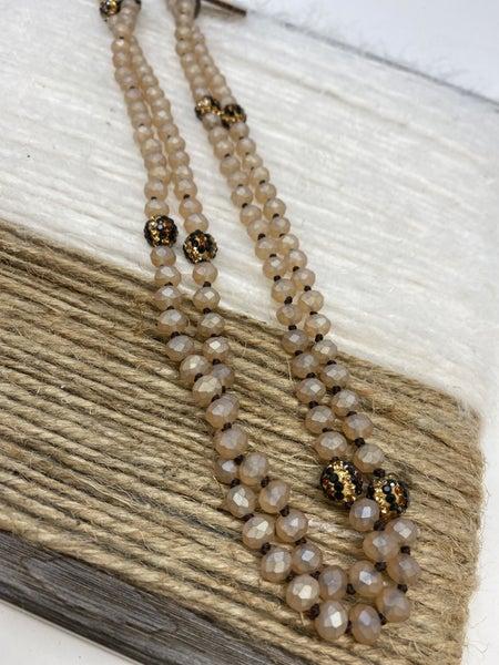 Love You Leopard Necklace