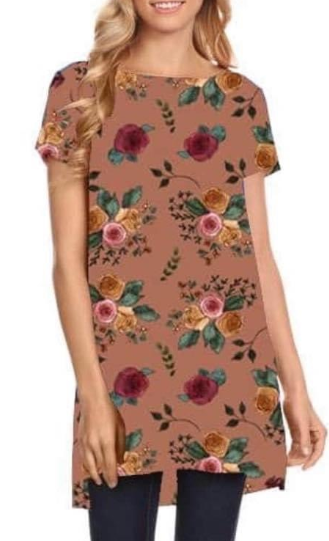 Finally Fall Floral Tunic