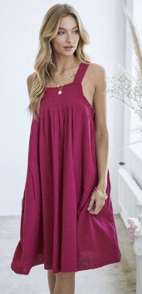 A Pop of Color Dress
