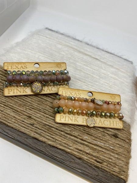 Sassy Stone Stack Bracelet
