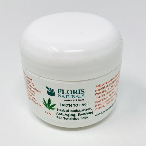 Floris Naturals Earth To Face herbal Moisturizer *Final Sale*