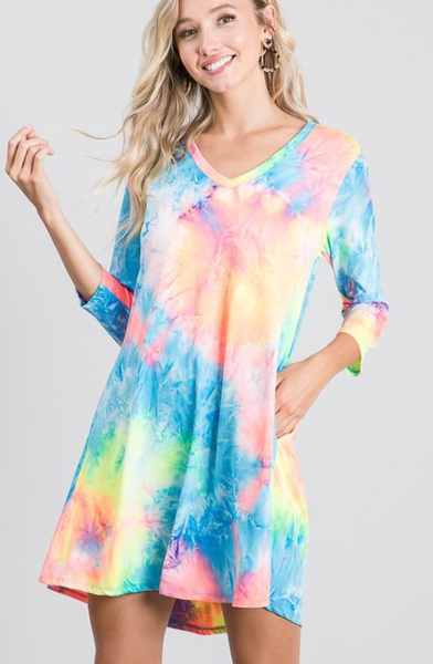 All The Colors Dress PREORDER