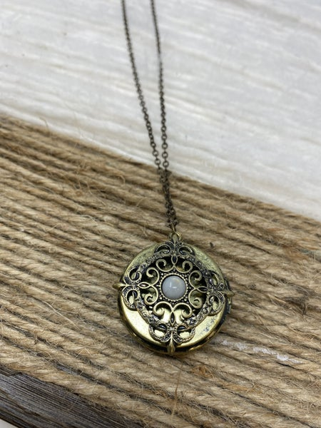 Guided by Light Locket Necklace