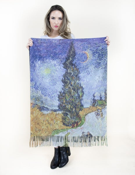 The Last Painting Scarf