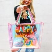 Iridescent Tote - Happy Looks Good on You PREORDER