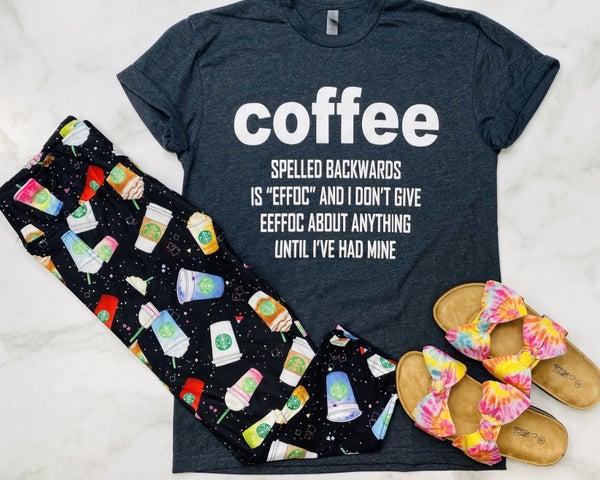 Cosmic Coffee Capri Leggings