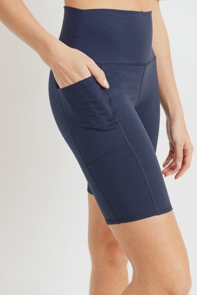On The Road Biker Shorts