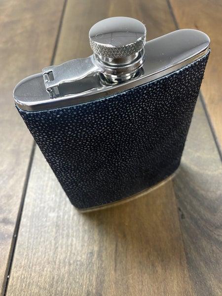 Stingray Leather 6oz. Flask