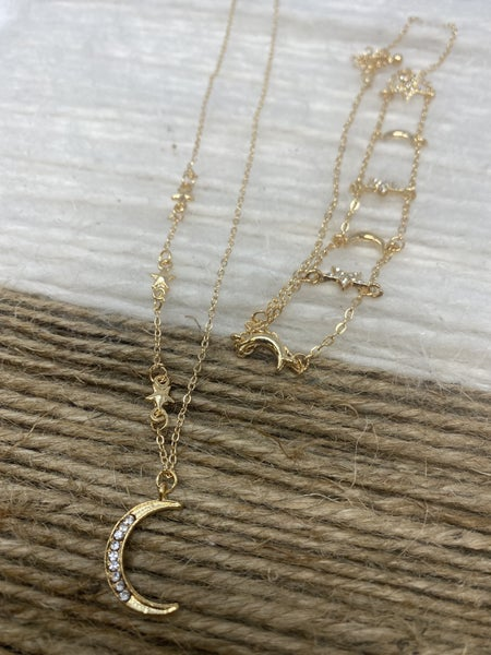 All the Stars in the Sky Necklace Set