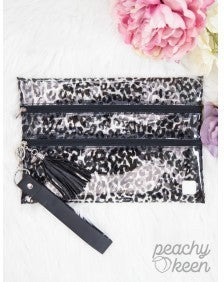 Animal Instincts Double Zipper Versi Bag