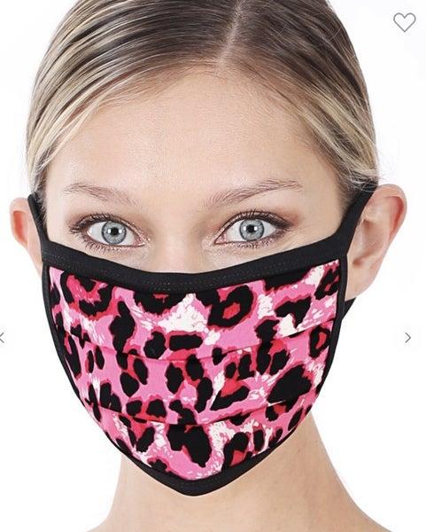 Leopard Face Cover *Final Sale*