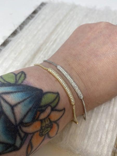 CZ Bar Bracelet