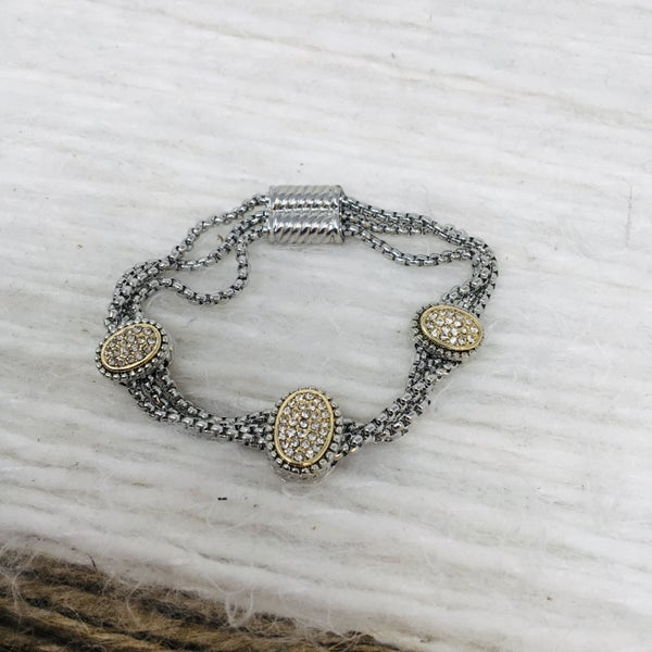 Chic Cable Magnet Bracelet