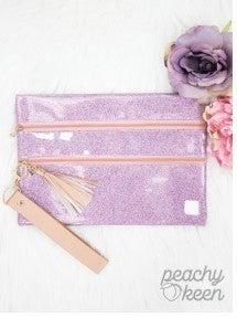 Pink Disco Double Zipper Versi Bag