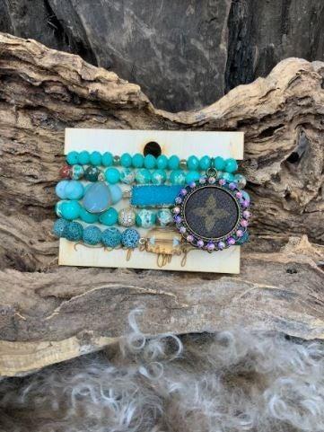 Ocean Breeze Bracelet Stack PREORDER
