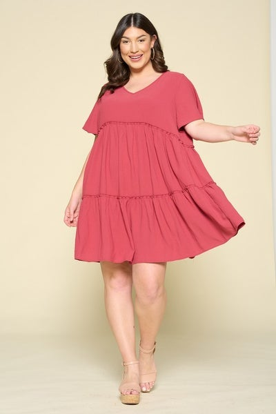 *Preorder* Oddi Everyday Bliss Babydoll Dress