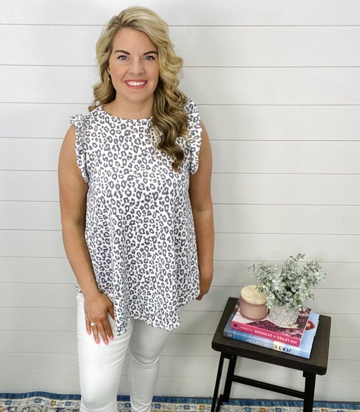 Alicia Animal Print Top