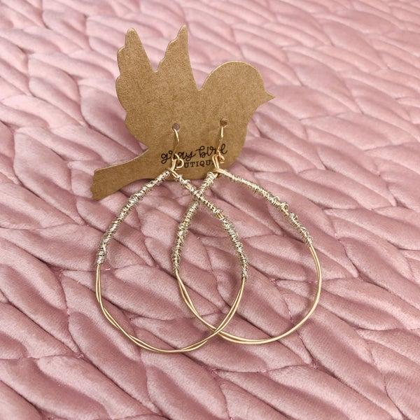 It's A Wrap Earrings- 2 colors!!