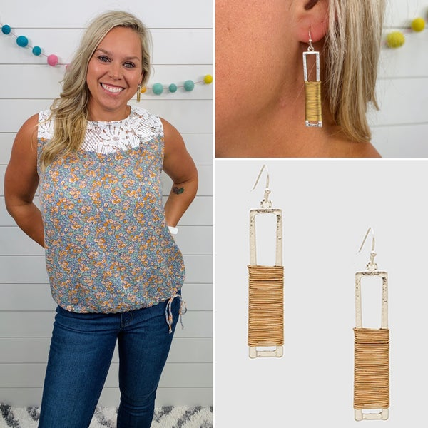 Wrapped Up in You Earrings