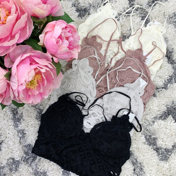 The Lovely Lace Bralette